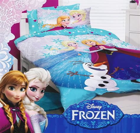 frozen bed sheets disney frozen single bed quilt cover bed set pillowcase