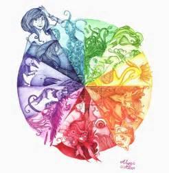 gallery unique color wheel ideas