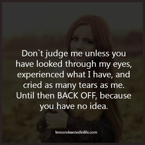 Judge Me lessons learned in lifedon t judge me lessons learned