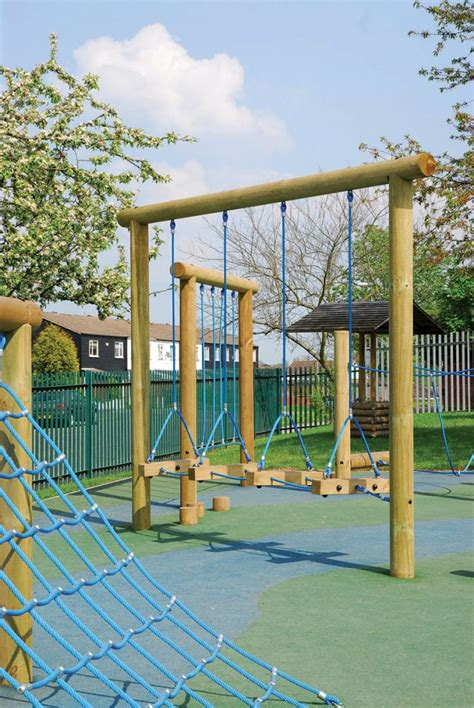 Swing Steps by Swing Steps Trim Trail Equipment Playground Equipment