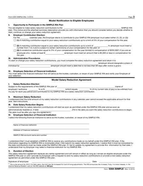 Irs Code Section 408 by Form 5304 Simple Savings Incentive Match Plan For
