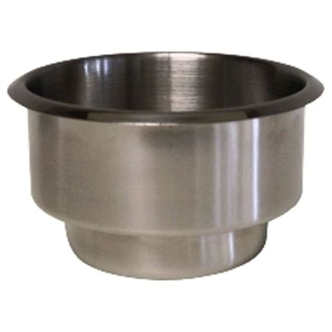 With Cup Holders by 2 Dual Size Stainless Steel Drink Cup Holders Tables Ebay