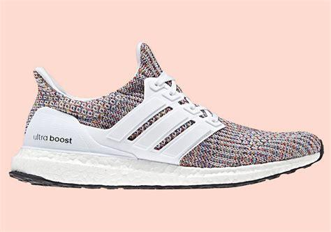 Sepatu Adidas Ultra Boost Rainbow White Multicolor Sneaker New 2017 adidas ultra boost 4 0 multi color release date sneaker