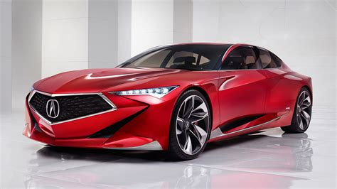 Acura Honda by Acura Precision Concept Unveiled Previews The Future Of