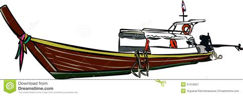 longtail boat icon thailand longtail boat stock illustration image 51016557