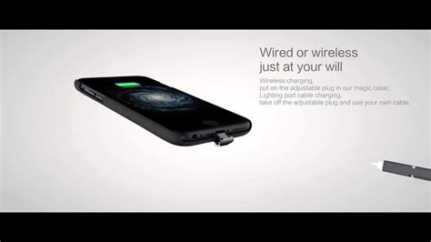 nillkin iphone 7 7 plus 6 6s magic qi wireless charging receiver back cover