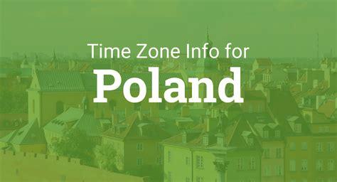 time zones  poland