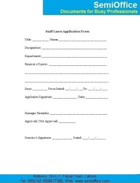 Form Of Mba In Arts by Sle Leave Of Absence Form Gallery Cv Letter