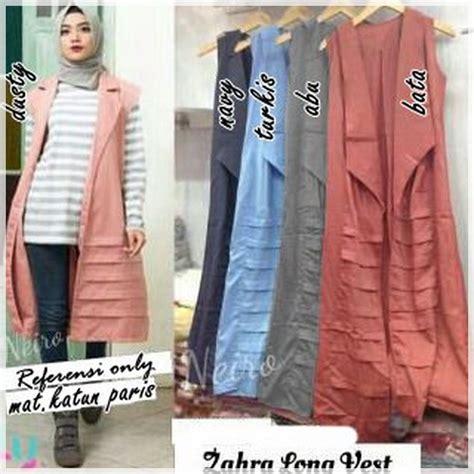 Busana Muslim Gamis Wanita Gma 8113 model cardigan ukuran besar sweater
