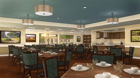 Assisted Living Dining Room by Assisted Living In Carmichael Ca Atria El Camino Gardens