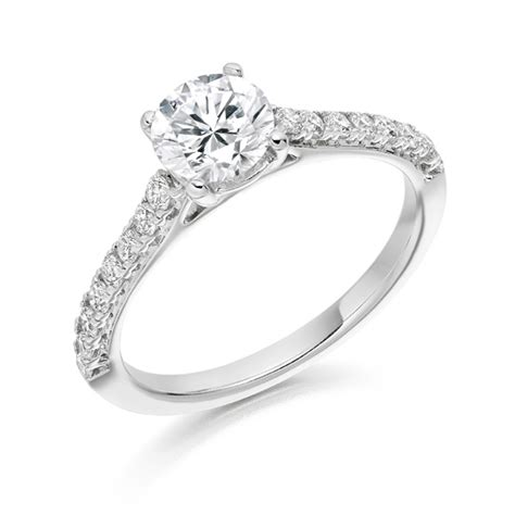 single band engagement rings engagement rings
