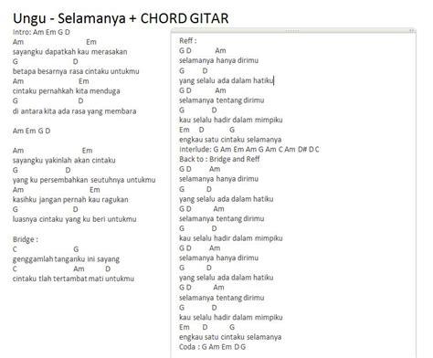 tutorial chord gitar demi waktu 41 download kumpulan chord lagu indonesia termudah dan