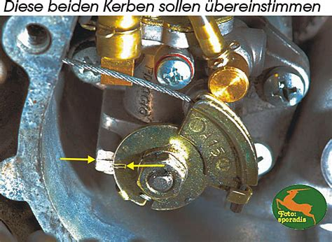 Roller Vergaser Reinigen Ohne Ausbau by Selbstmischer 246 L Einstellung Rollertuningpage Roller