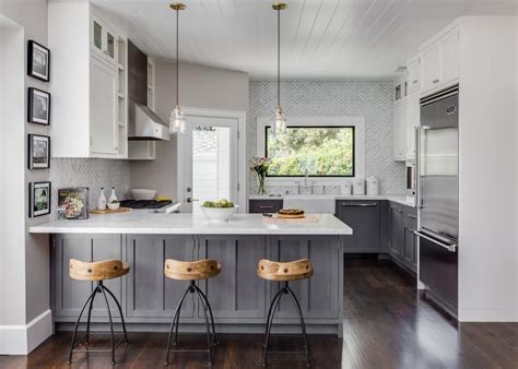 white cabinets grey walls small home with big style warm grey walls base cabinets