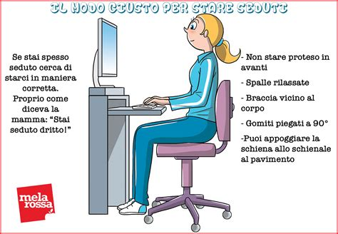 stare seduti stare seduti tutto il giorno fa alla salute melarossa