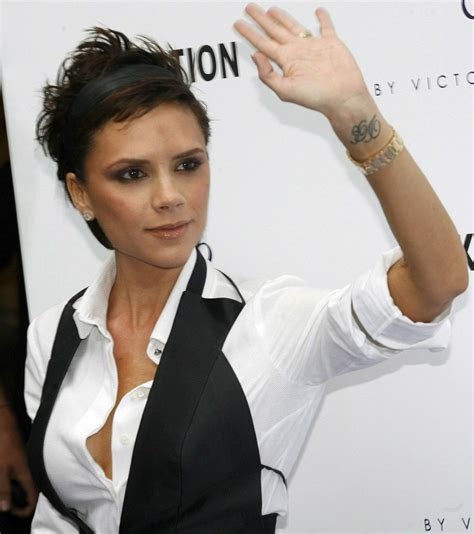 victoria beckham tattoo wrist my tattoos zone