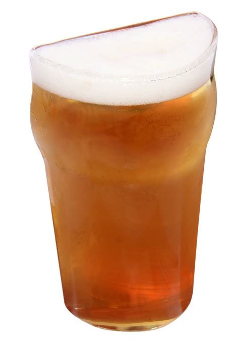 what is a pint glass half pint glass