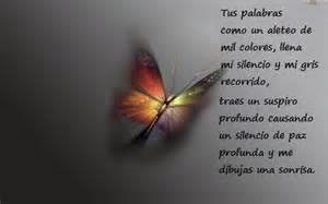 bello fondo de mariposas con una mensaje de reflexin para poemas de un caracol leonardo caracol farf 225 n p 225 gina 18