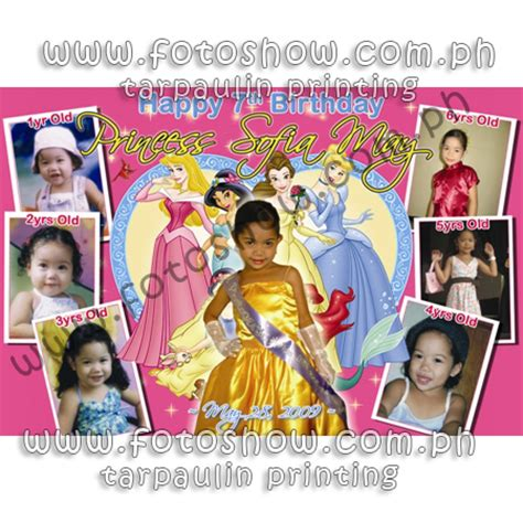 birthday tarpaulin layout design psd birthday layout psd images