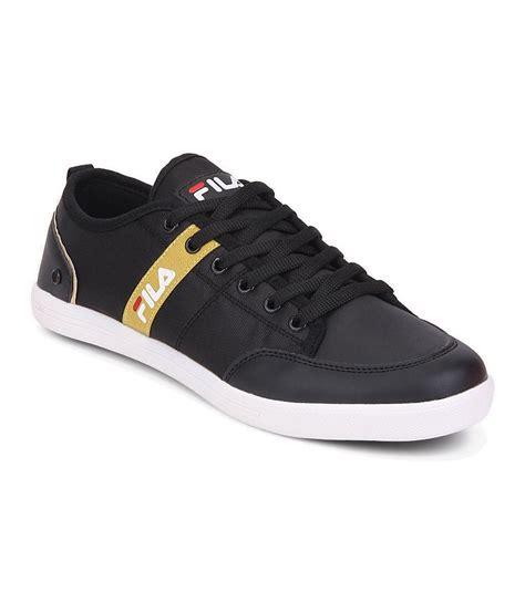 fila black sneaker shoes price in india buy fila black