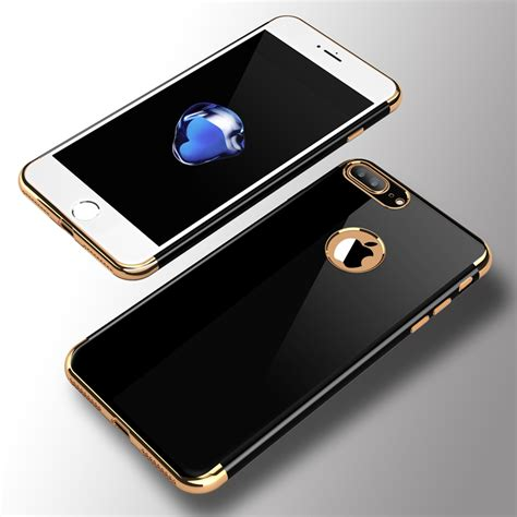 Ultra Thin Silicone Softcase Jet Black Edition Iphone 6 6plus 7 7plus roybens luxury jet black original phone cases for iphone 7 for iphone 7 plus soft