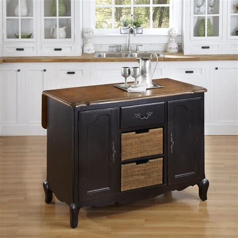 country side kitchen home styles oak and rubbed black countryside