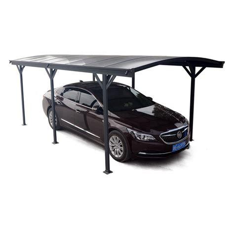carport 3x5 carport en aluminium anthracite 3x5 05m et polycarbonate