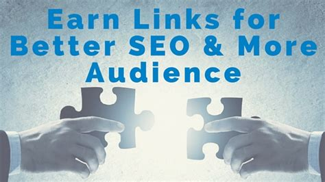 is better for seo how to earn links for better seo more audience