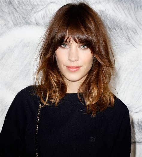 medium haircuts with fringe 2017 medium length hair with fringe girly hairstyle inspiration