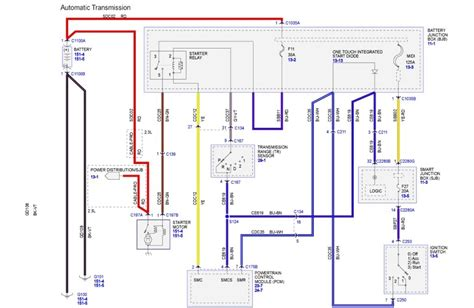 2002 ford escape wiring schematic 2013 ford escape wiring