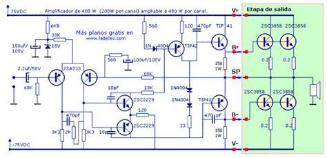 Kit Driver Power Lifier 150 Watt Stereo Plus Power Suplai 89 circuitos analogos y digitales parte 1 taringa