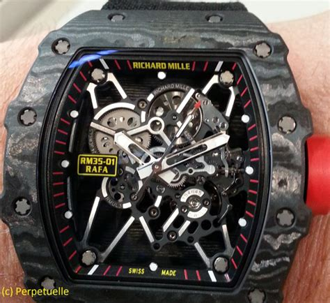 Ntpt Carbon Limited Edition Movement Custom Modified Swiss 7750 F 1 richard mille limited edition rm 011 yellow extravaganzi