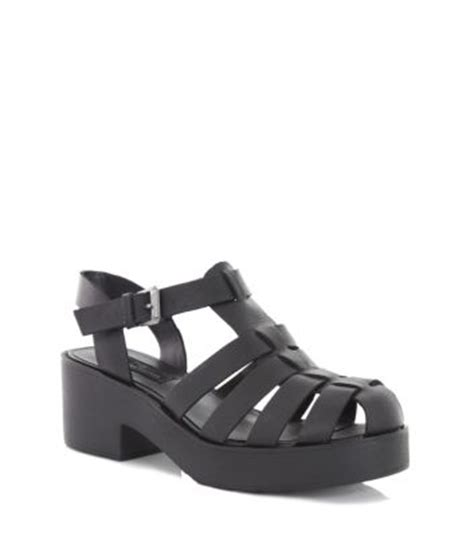 black chunky gladiator sandals limited black leather chunky gladiator sandals