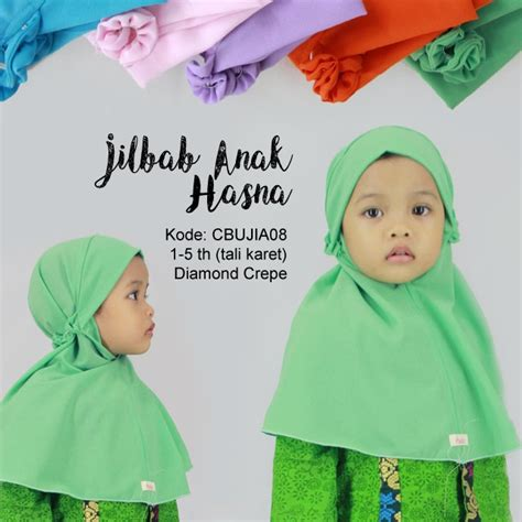 Jilbab Kcb Motif jilbab kcb anak hasna baju muslim anak murah batikunik