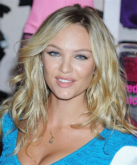 candice swanepoel hair cut candice swanepoel long wavy casual hairstyle