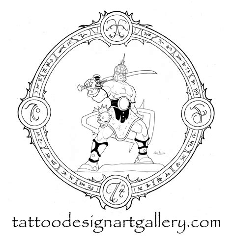 demon hunter tattoo designs custom tatoo choice designs for hunters
