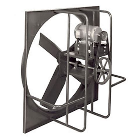 belt drive wall exhaust fan exhaust fans with guard mounts or shutters global industrial