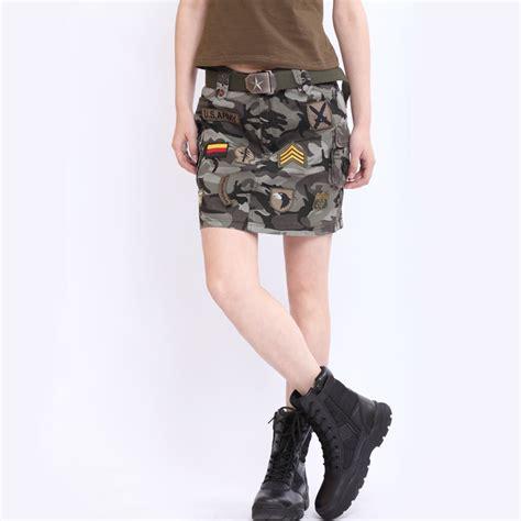 summer fashion outdoor camo skirts