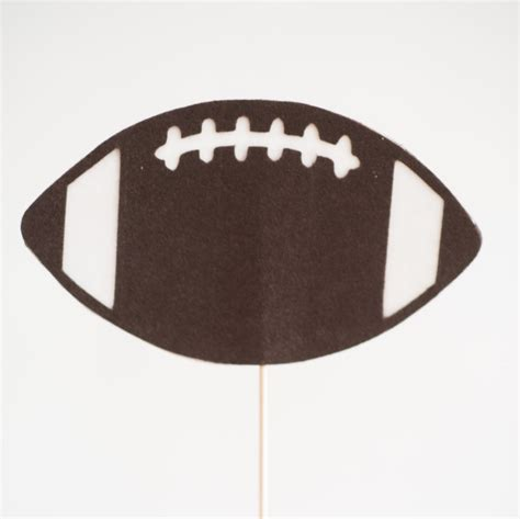 Handmade Photo Booth Props - felt football photo booth prop handmade photo booth props