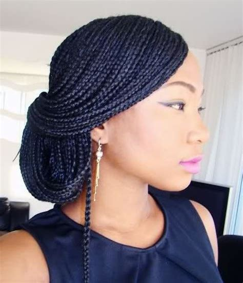 ways to style braided hair 7 easy ways to style box braids senegalese twists