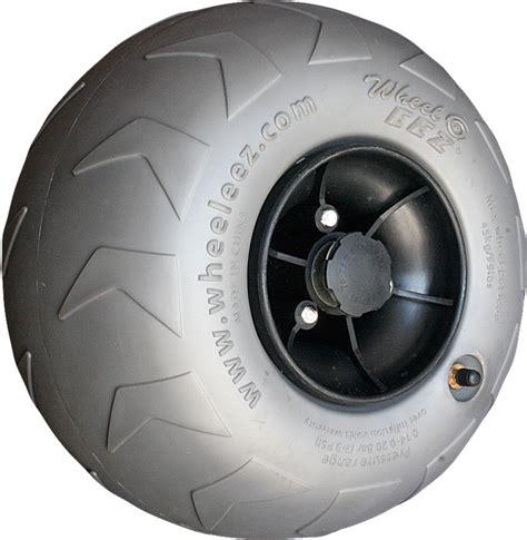 Polyurethane beach wheels beach wheels pvc from wheeleez inc