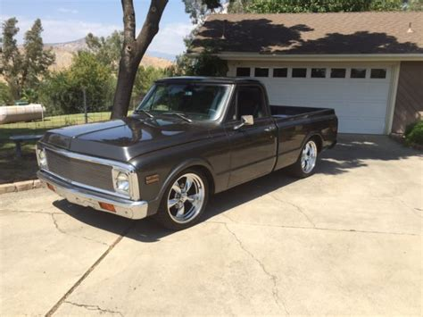 1971 chevrolet c10 restored no reserve lowered 20 inch wheels
