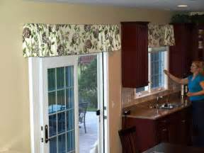 window valance ideas for kitchen home intuitive