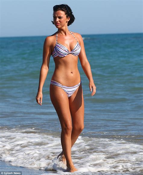 built to last tattoo lucy mecklenburgh puts her impressively toned physique on display in italy daily mail online