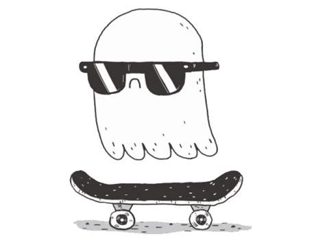 Skater Ghost skate ghosts