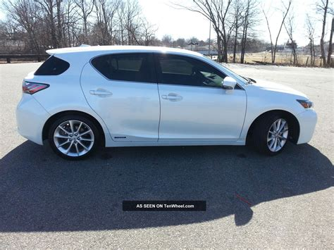 lexus hybrid ct200h 2012 lexus ct200h hybrid 42mpg seats 5 hatchback all