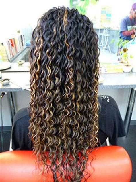how to perm long thick hair 25 best ideas about perms long hair on pinterest permed