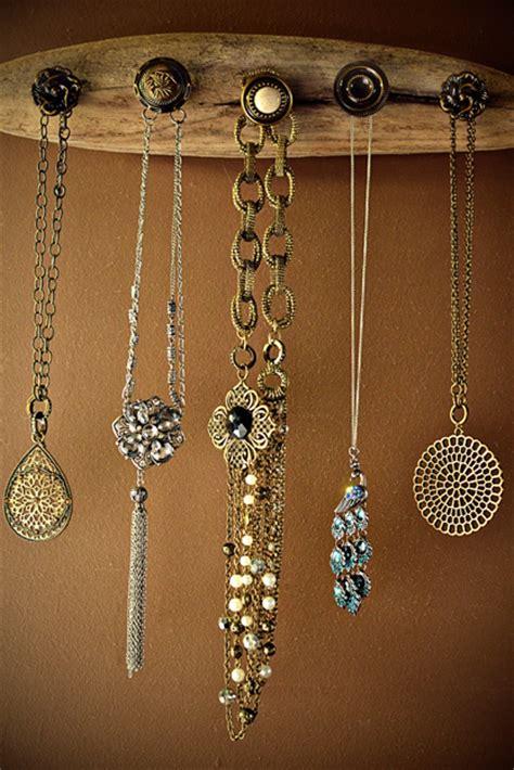 diy jewelry diy driftwood jewelry holder