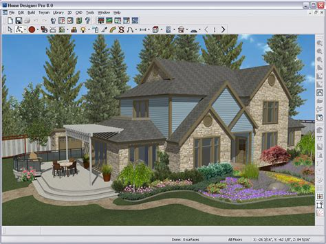 home design software overview decks and landscaping amazon com better homes and gardens home designer pro 8 0