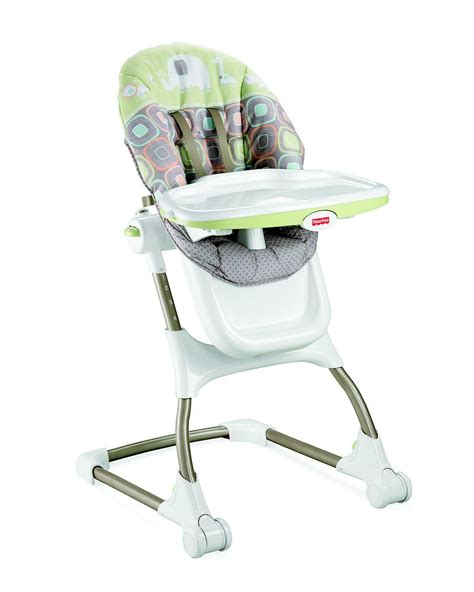 easy clean high chair australia fisher price high chair ez clean green shop your way